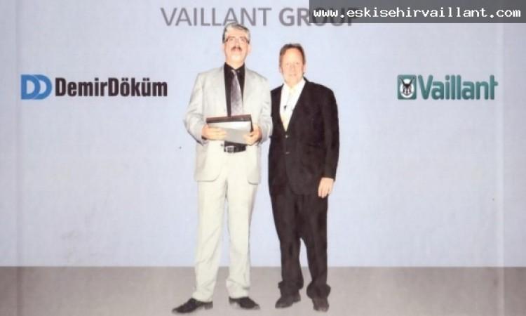 VAİLLANT DEMİRDÖKÜM CEO' SU SN CHRİSTOPH M. GROSSER VE AHMET HAZAR